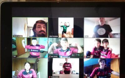 Entrenamientos RBH Global León Rugby Club Sub-12 y Sub-14