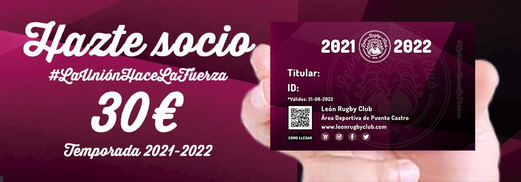 León Rugby Club Hazte Socio 2021-2022